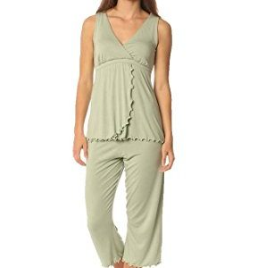 Maternity Nursing Pajama Lounge Set