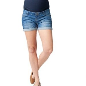 Ripe Maternity Women's Maternity Denim Shorty Shorts