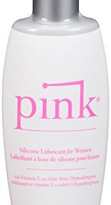 Pink Silicone Based Personal Lubricant Pump Bottles