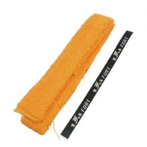 Dimart Yellow Cotton Tennis Badminton Racquet Towel Grip