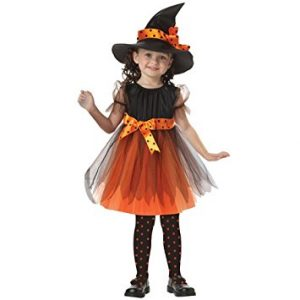Halloween Dress With Short Sleeves