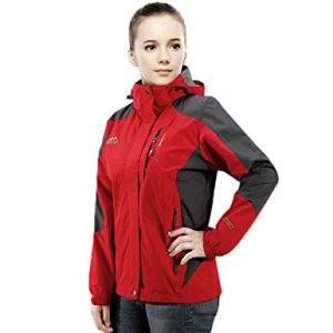 Woman Hooded Waterproof Jacket