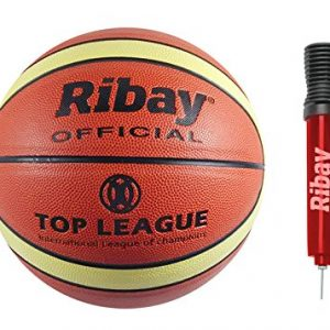 Ribay Size 7 Basketball and Pump