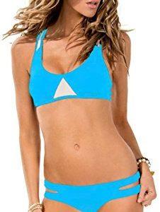 Yonas Women's Halter Bikini Swimsuit