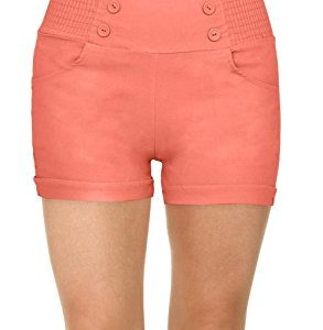 Simlu Sailor High Waisted Women Shorts