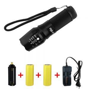 Super Bright CREE XML T6 LED Portable Zoom