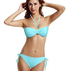 Zeraca Bandeau Bikini Sets