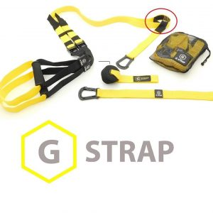 GYMSTUFF G-STRAP (6 COLORS) Suspension Body Fitness Trainer,