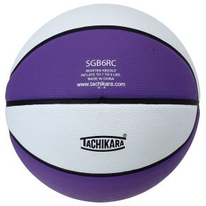 Tachikara 2-Tone Rubber Basketball