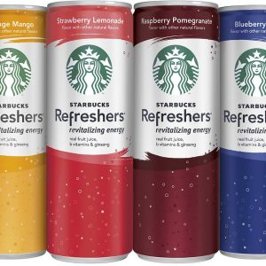 Starbucks Refreshers 4 Flavor Variety Pack