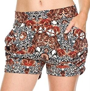 Tribal Print Harem Shorts
