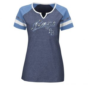 MLB Tampa Bay Rays Women's The Replay Fashion Top