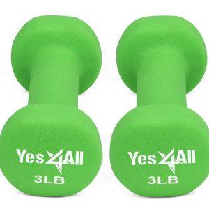 Yes4All Deluxe Neoprene Dumbbells