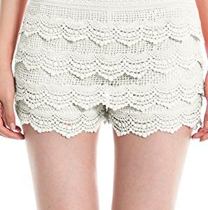 Simlu Lace Womens Short Shorts