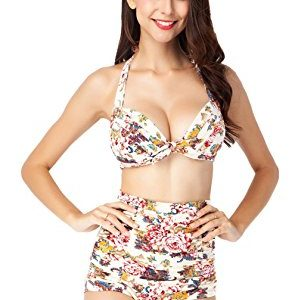 Women Swimsuit - iCharmore Two Pieces Swimwear