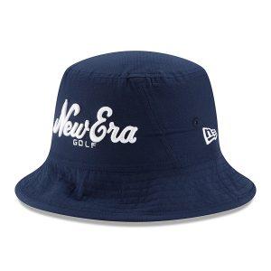 New Era Golf Stacked Logo Bucket Hat-LXL