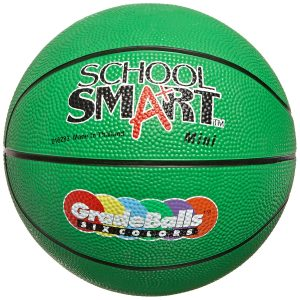 School Smart Gradeballs Rubber Basketball