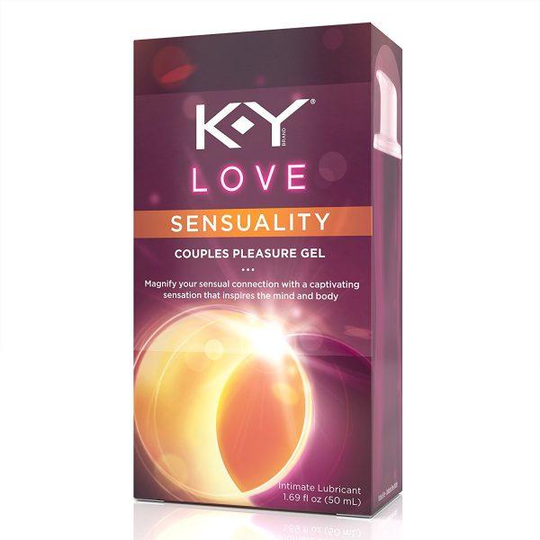 K-Y Love Pleasure Gel Intimate Lubricant
