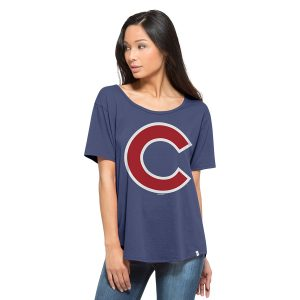 MLB Women's Boyfriend Scoop Neck Tee