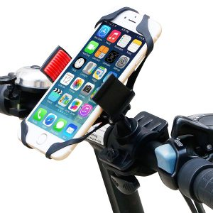Bike Mount, Ipow Universal Cell Phone Bicycle Rack Handlebar