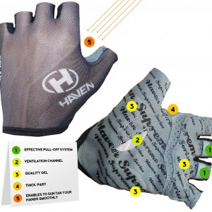 Cycling Gloves Haven SOLAR