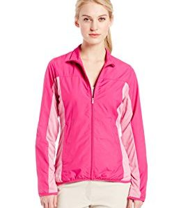 adidas Golf Women's Microstripe Wind Jacket