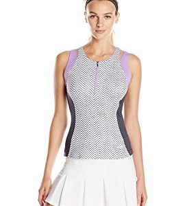 Bolle Women's Zip Front Tank Top
