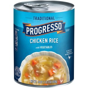 Progresso Soups Traditional Soup, Chicken Rice with Vegetables