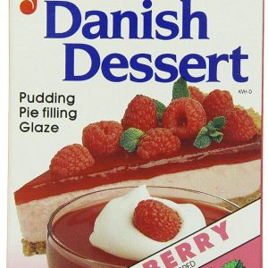 Junket Danish Dessert Raspberry