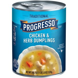 Progresso Soups Traditional Soup, Chicken and Herb Dumplings