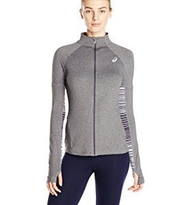 Asics Women's Thermopolis LT Thermal Lightweight Full Zip Top