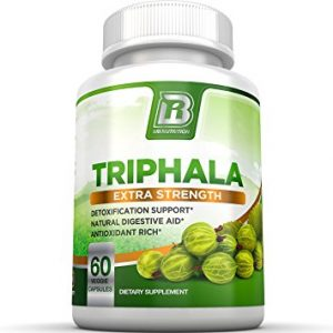 BRI Nutrition Triphala - 1000mg Veggie Himalaya Triphala Pure