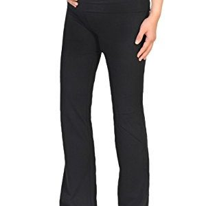 Beachcoco Women's Maternity Fold Over Comfortable Lounge Pants