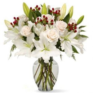 Benchmark Bouquets White Elegance