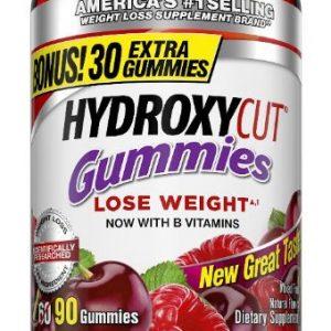 Hydroxycut Nutrition Gummies, Mixed Fruit