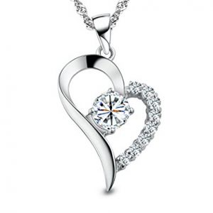 You Are the Only One in My Heart Sterling Silver Pendant