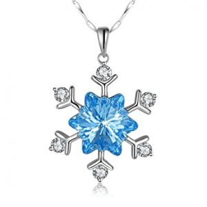 Sterling Silver Love Edelweiss Pendant Necklace
