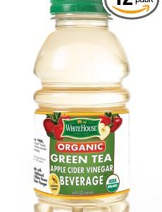Organic Green Tea Apple Cider Vinegar Beverage