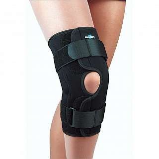 SAFE-T-SPORT Wrap-Around Hinged Knee Brace