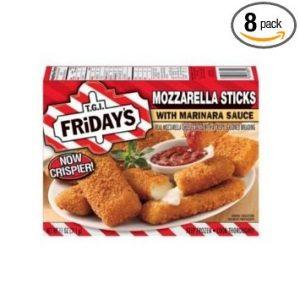 Tgi Fridays Mozzarella Sticks with Marinara Sauce