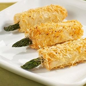 Crispy Asparagus with Asiago in Phyllo