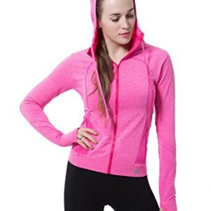 Compression Hoodie Full Zip Sports Jacket