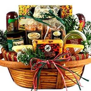 The Holidays Christmas Gift Basket