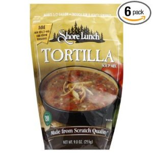 SHORE LUNCH MIX SOUP TORTILLA