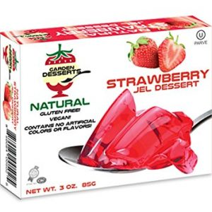 Garden Desserts All Natural Jel Strawberry Flavor