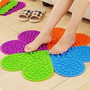 Heart-shaped Healthy Reflexology Massage Mat