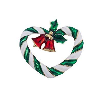 Christmas I love Xmas Brooch Pin Jewelry Gift