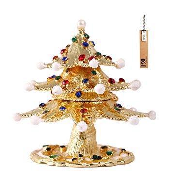 Christmas Jewelry Trinket Box