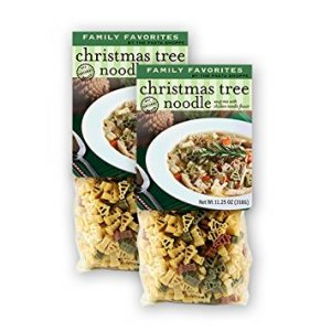 Pastabilities Christmas Tree Noodle Soup