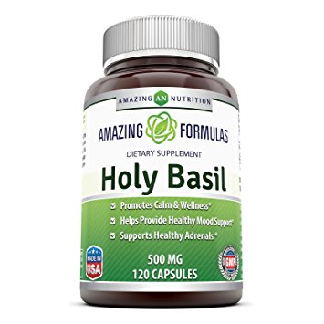 Amazing Nutrition Holy Basil Dietary Supplement